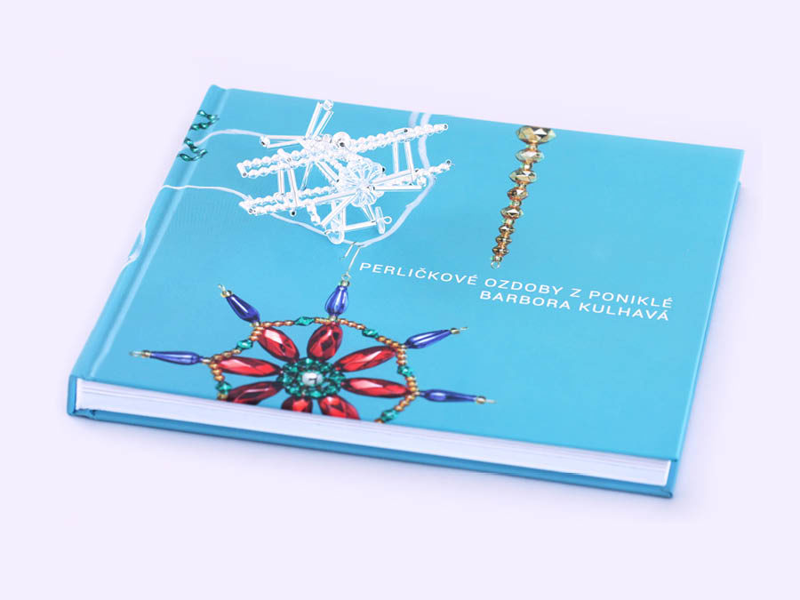 BOOK ABOUT GLASS BEAD ORNAMENTS FROM PONIKLÁ